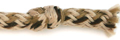 Knotted Shoelace Aglet picture 1