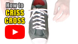 Watch video: How to Criss Cross Lace your shoes