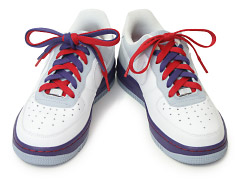 Image result for Shoe Tying To separate colored