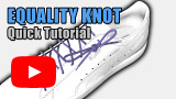 Watch video: Equality Knot quick tutorial – PUMA x Professor Shoelace