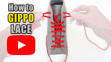Watch video: How to Gippo Lace your shoes