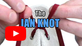 "Watch video: The ""Ian Knot"", the world's fastest shoelace knot"
