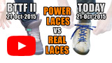 Watch video: Power Laces versus real shoelaces