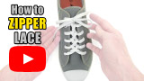 Watch video: How to Zipper Lace your shoes