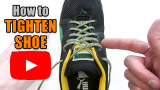 Watch video: How to tighten shoelaces